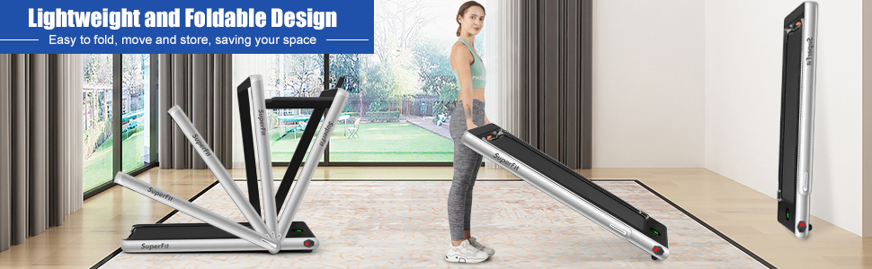 2 in 1 treadmill
