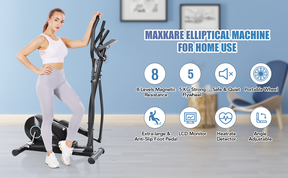 MaxKare Elliptical Training Machine