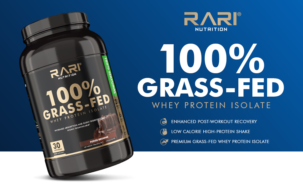 grass-fed protein, low calorie, high protein shake, whey protein isolate