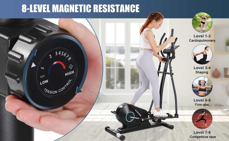 MaxKare Elliptical Machine