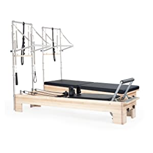 Traditional Studio Reformer with tower added and Studio with added Mat and Tower Conversion Kit.