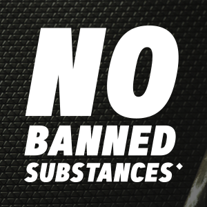 No banned substances