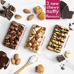 chewy-nutty bars