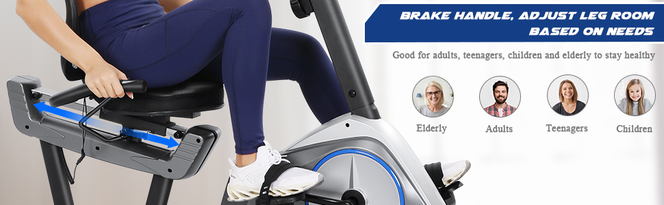 The Makare recumbent exercise bike