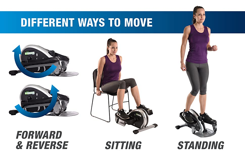 different ways to move