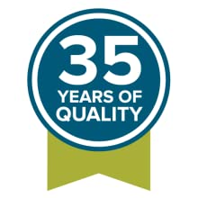 35 years of quality