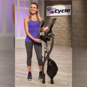 Slim Cycle folds flat for super-easy storage