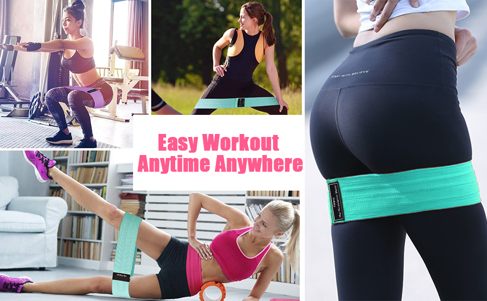Easy Workout Anytime Anywhere