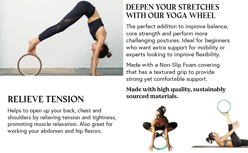 DEEPEN YOUR STRETCHES